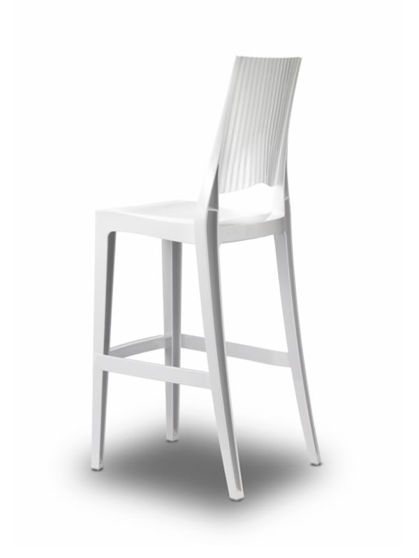 glenda s 2361 pour bars et restaurants tabouret pour bar en polycarbonate empilable hauter. Black Bedroom Furniture Sets. Home Design Ideas