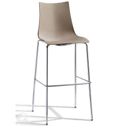 Zebra s tecno 2565 barhocker aus metall und technopolymer for Buro design luxembourg