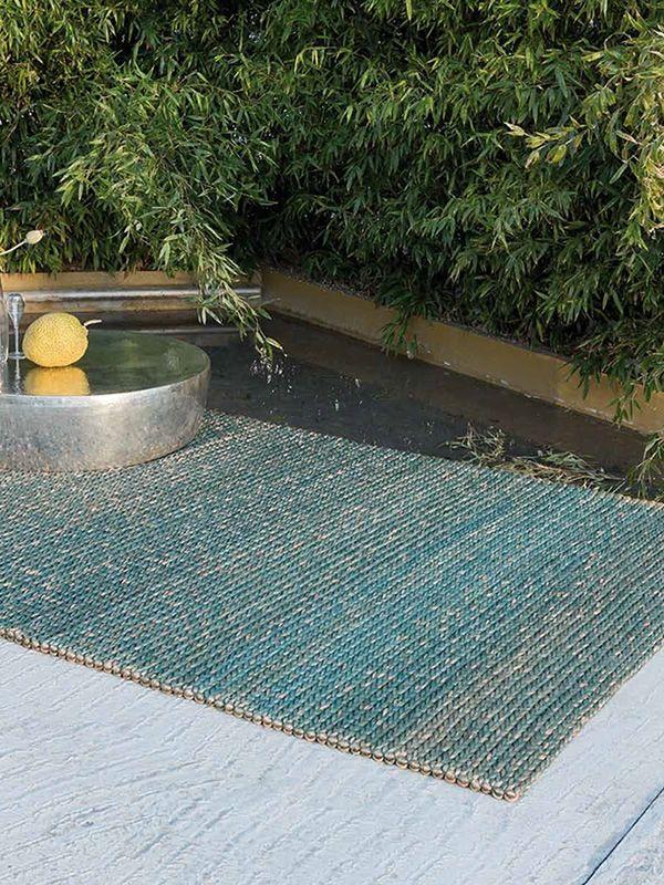 Jumbo Teppich mit natürlicher AbacáFaser, in