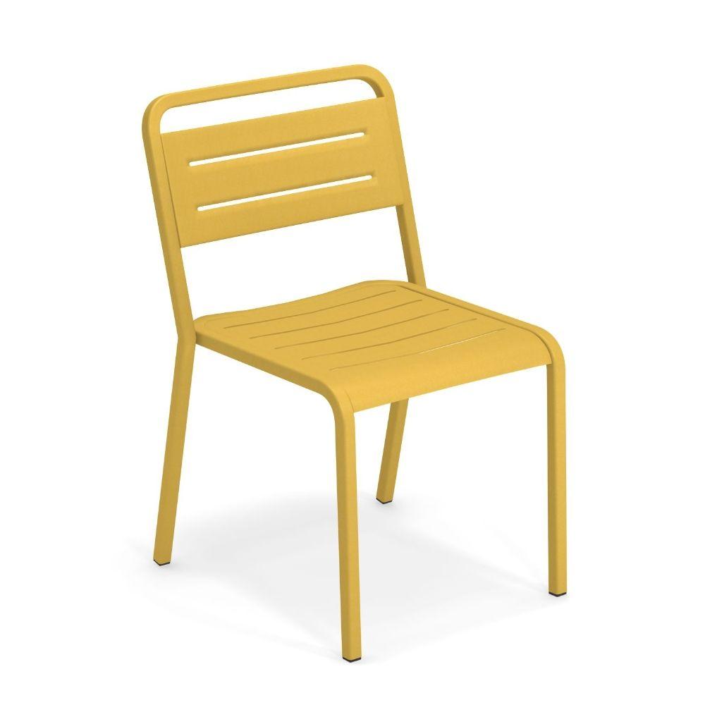 Urban chaise emu en aluminium empilable pour jardin - Chaise en couleur ...