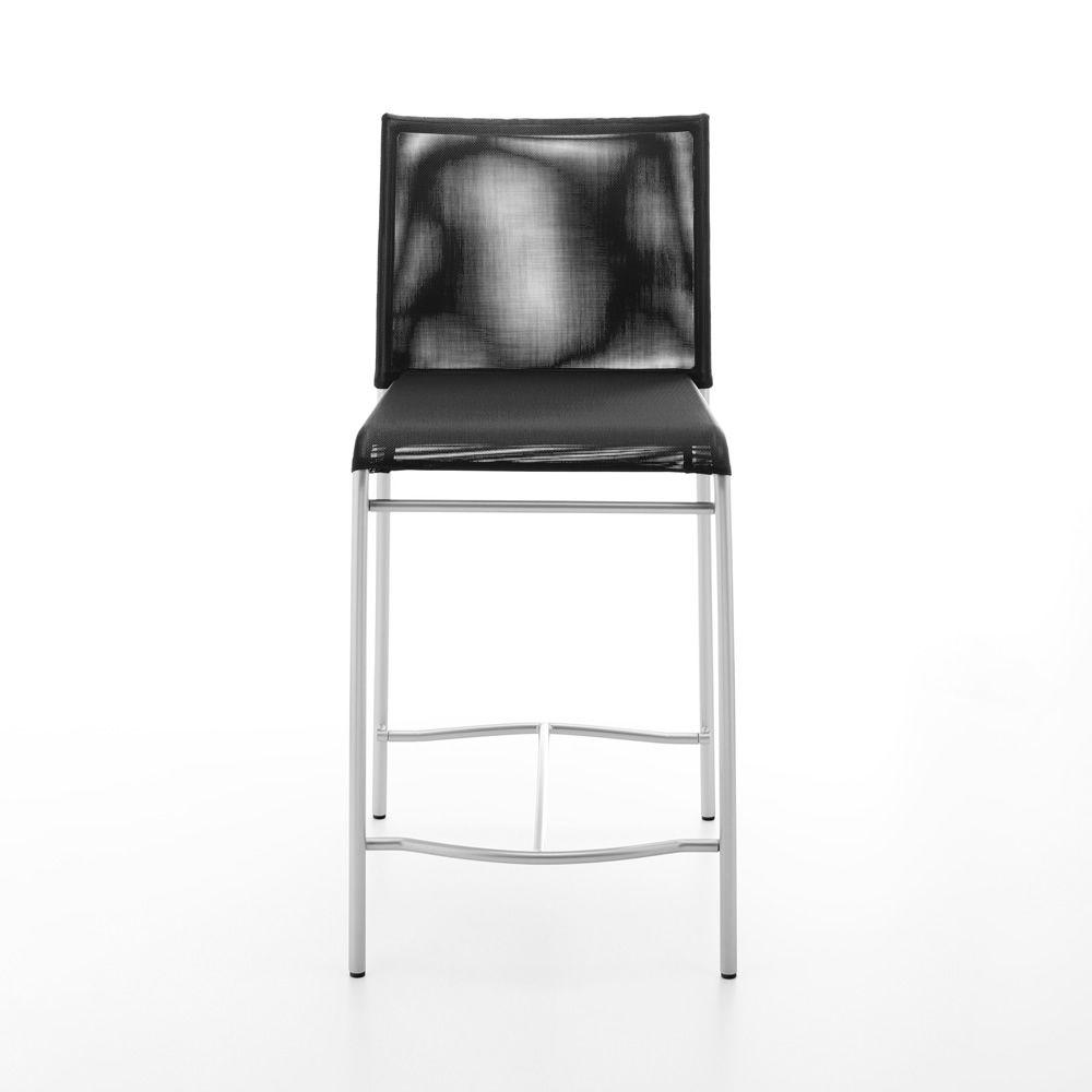 361 hocker aus metall und textplast sitzh he 60 cm sediarreda. Black Bedroom Furniture Sets. Home Design Ideas