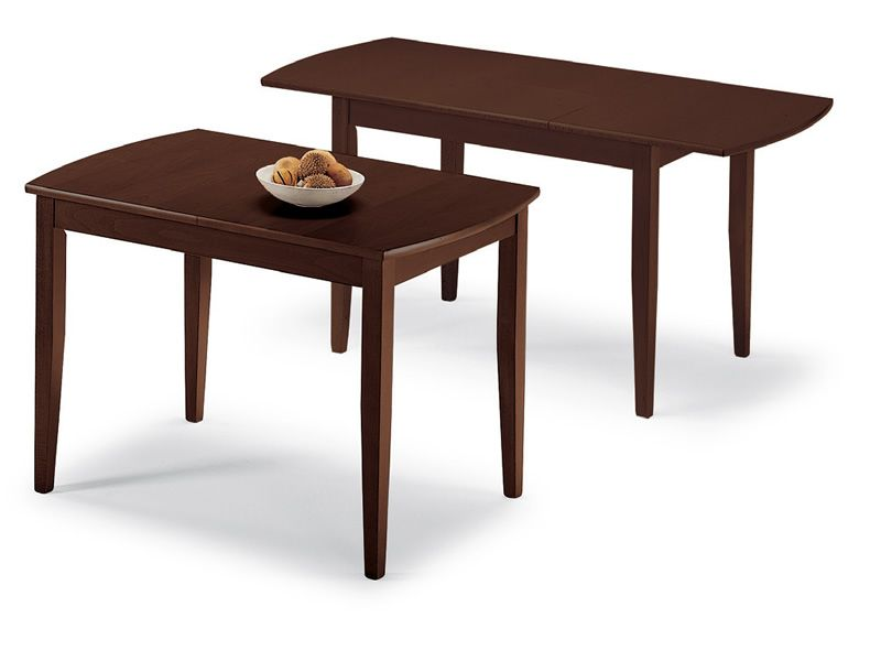 Sydney tavolo domitalia in legno in diverse tinte for Tavolo 70x110 allungabile