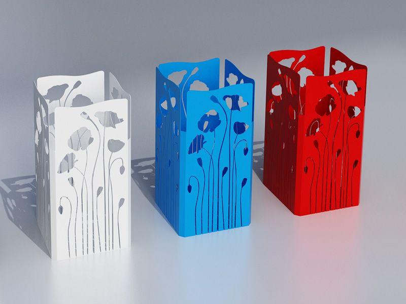 Poppy r portaombrelli in metallo disponibile in diversi colori