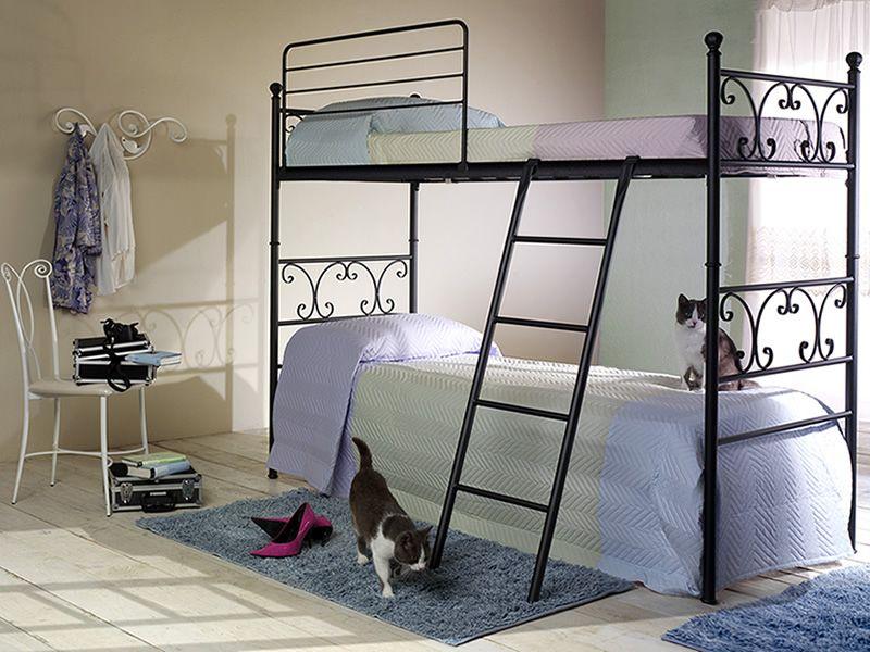 vienna c lits superpos s en fer disponible en diff rentes finitions sediarreda. Black Bedroom Furniture Sets. Home Design Ideas