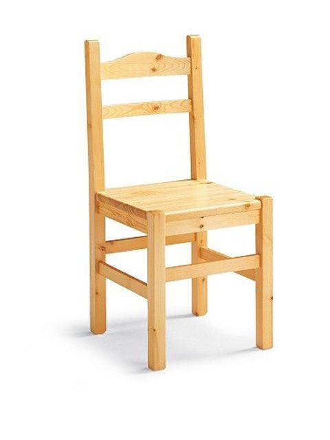 av109 chaise rustique en pin sediarreda. Black Bedroom Furniture Sets. Home Design Ideas