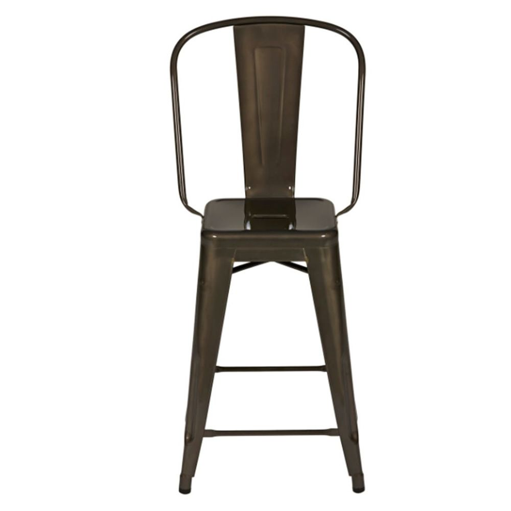hgd tolix designer hocker aus metall stapelbar sitzh he. Black Bedroom Furniture Sets. Home Design Ideas