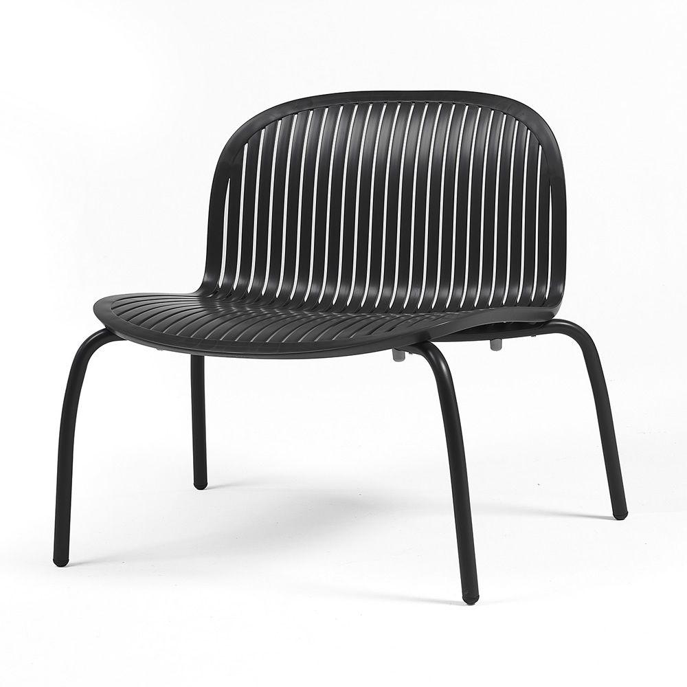 Ninfea relax chaise longue en aluminium et r sine for Chaise longue relax jardin