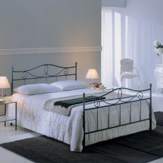Alabama big 25.42 - Double bed in iron, several colours available