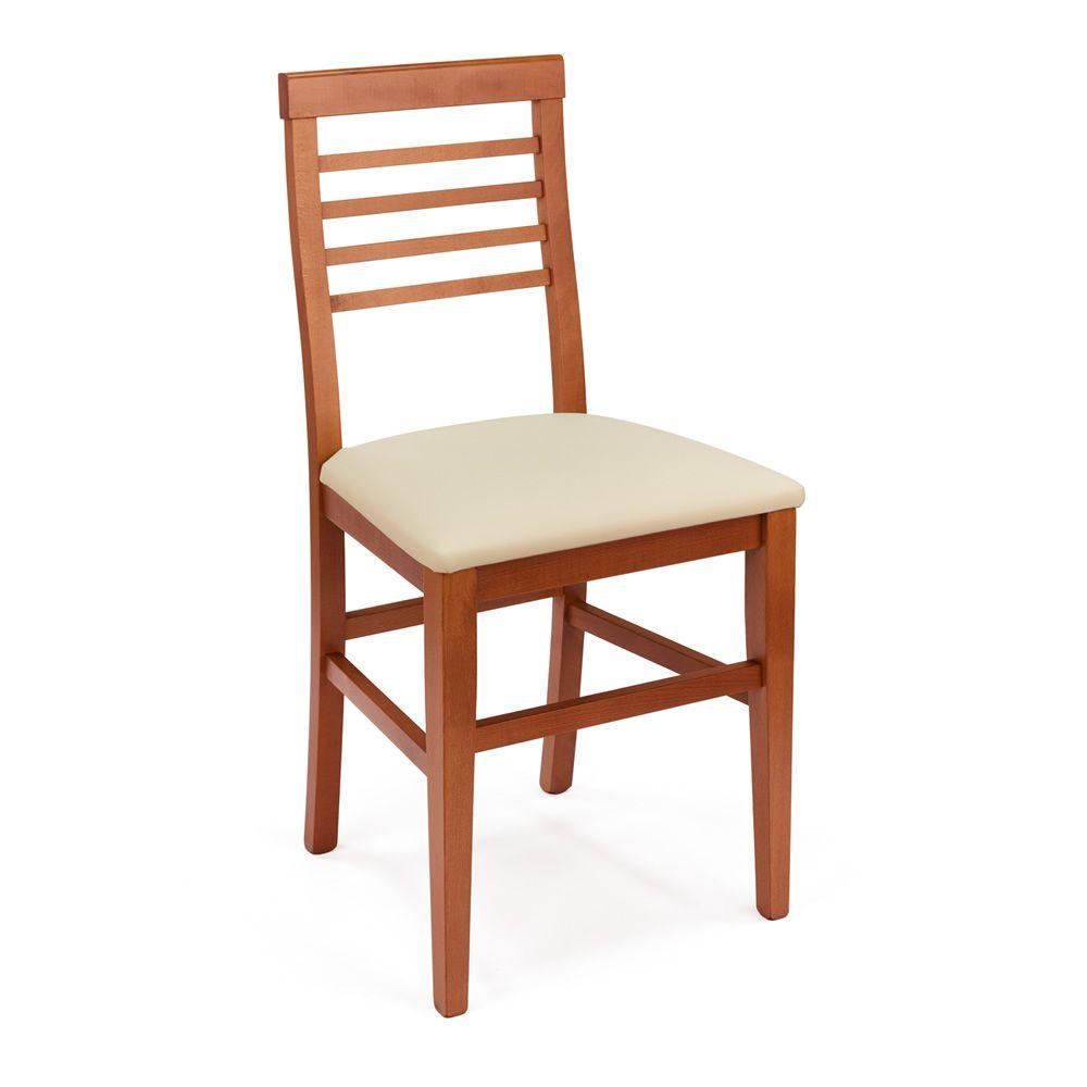 mu16 chaise en bois disponible en diff rentes teintes assise en bois ou rembourr e en. Black Bedroom Furniture Sets. Home Design Ideas