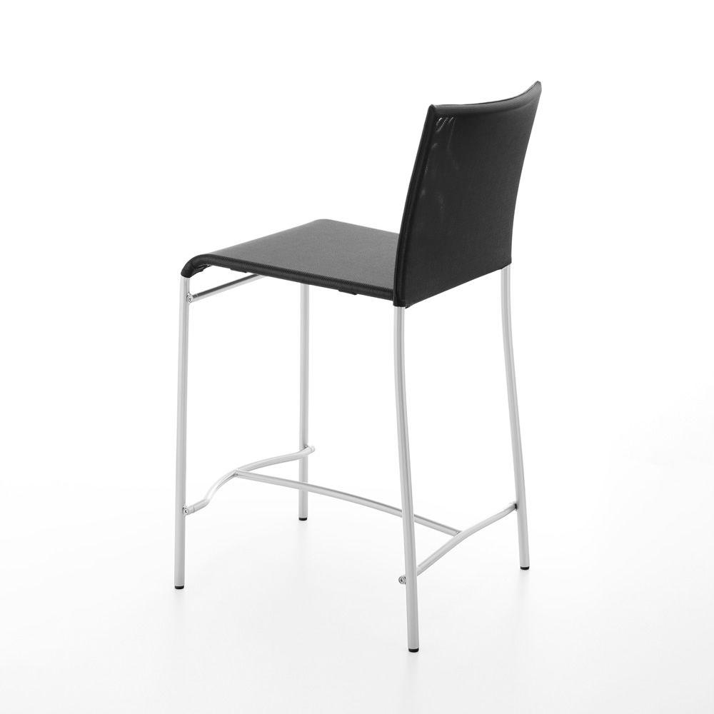 361 hocker aus metall und textplast sitzh he 60 cm. Black Bedroom Furniture Sets. Home Design Ideas