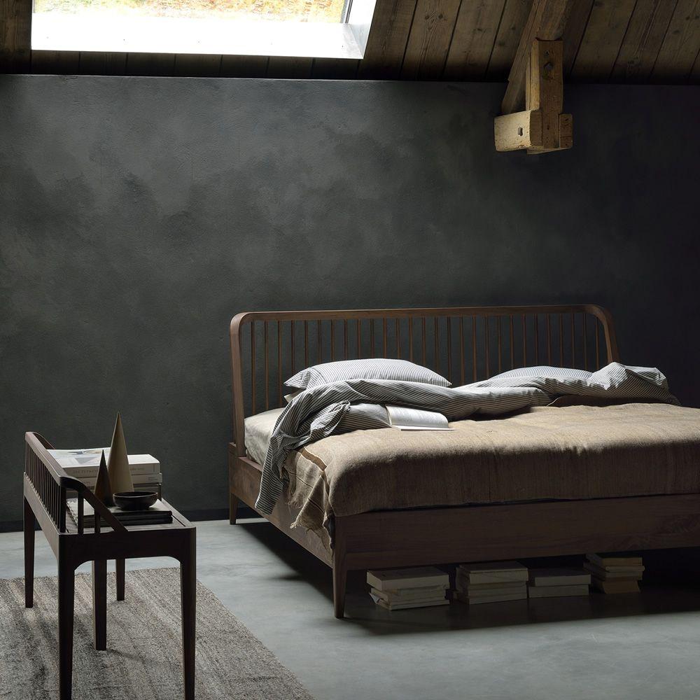 impressive wooden spindle bed frame 10