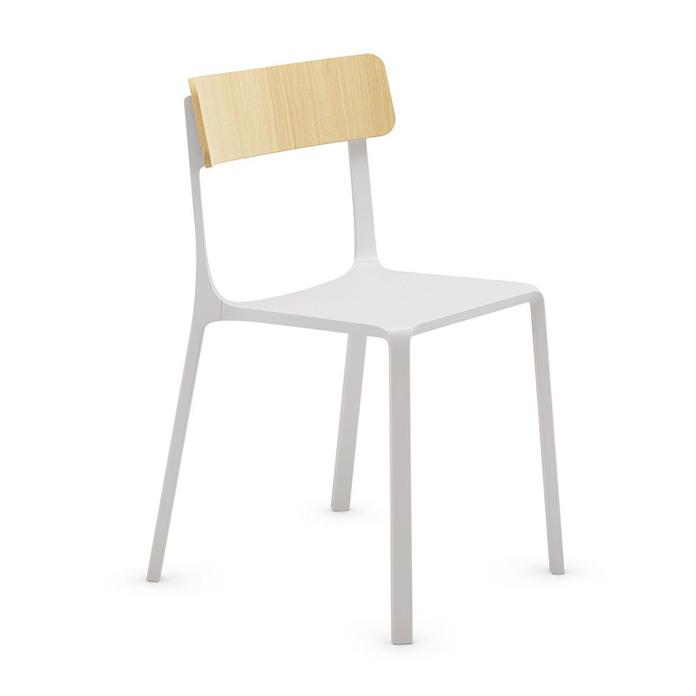 ruelle chaise empilable infiniti en aluminium dossier en. Black Bedroom Furniture Sets. Home Design Ideas