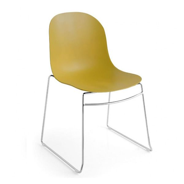 Cb1696 Academy Sedia Connubia Calligaris In Metallo E