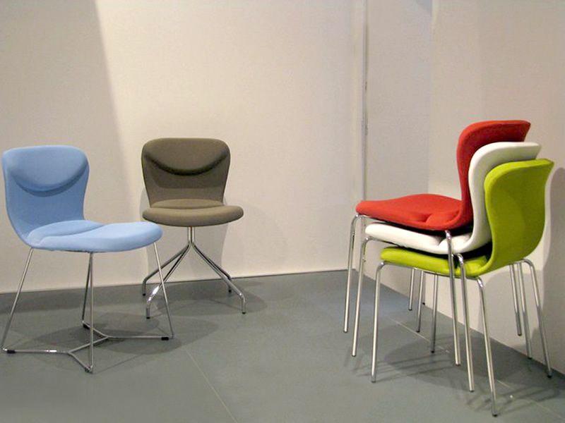 Italia x sedia midj in metallo con rivestimento in for Rivestimento sedie