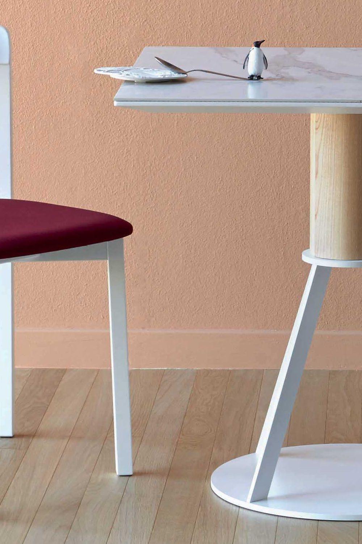Geronimo - Tavolo quadrato Miniforms in legno e metallo, diverse ...