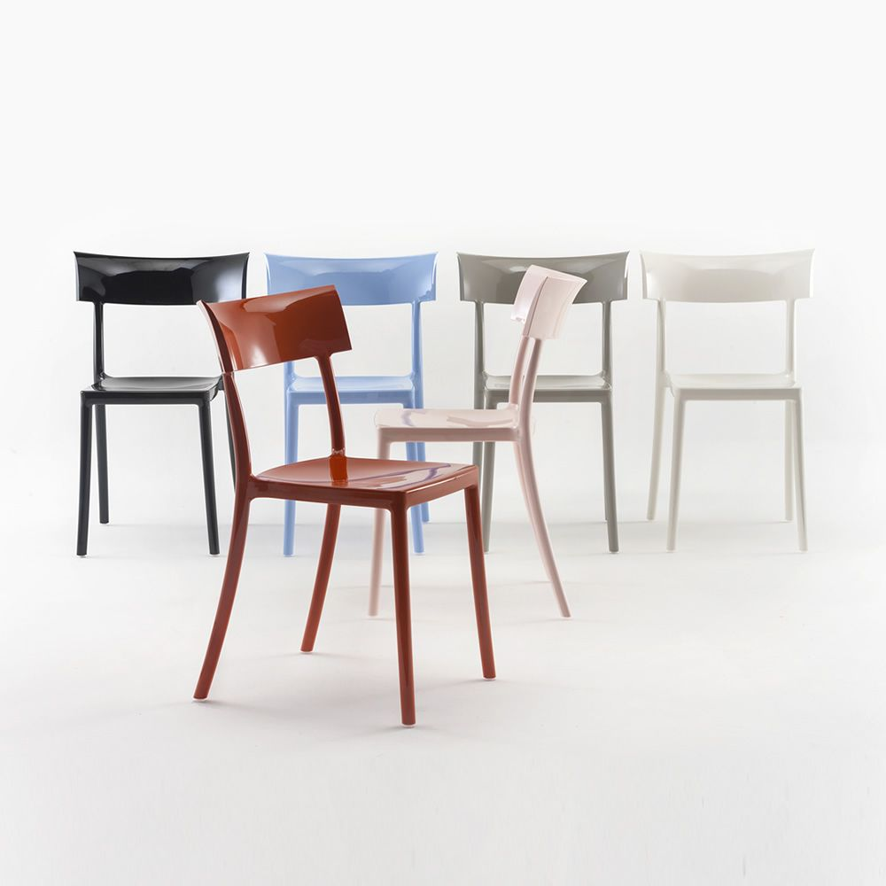 Catwalk sedia kartell di design in policarbonato for Sedie design kartell