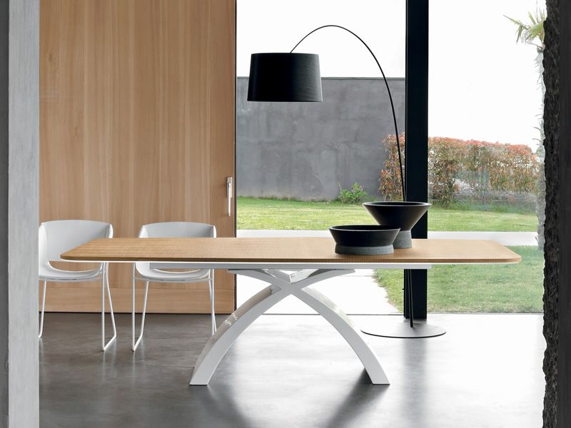 tokyo l 6951 table fixe tonin casa en marbre agglom r avec plateau en bois ou marbre 250 x 120. Black Bedroom Furniture Sets. Home Design Ideas