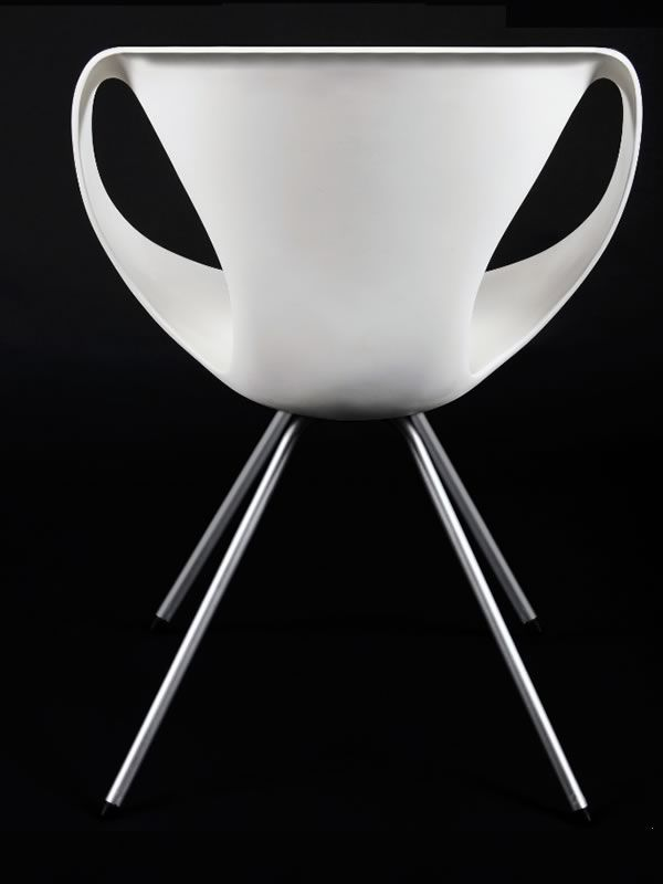 ... Up Chair   Modern Chair With Metal Structure And Polyrethane Seat By  Tonon ...