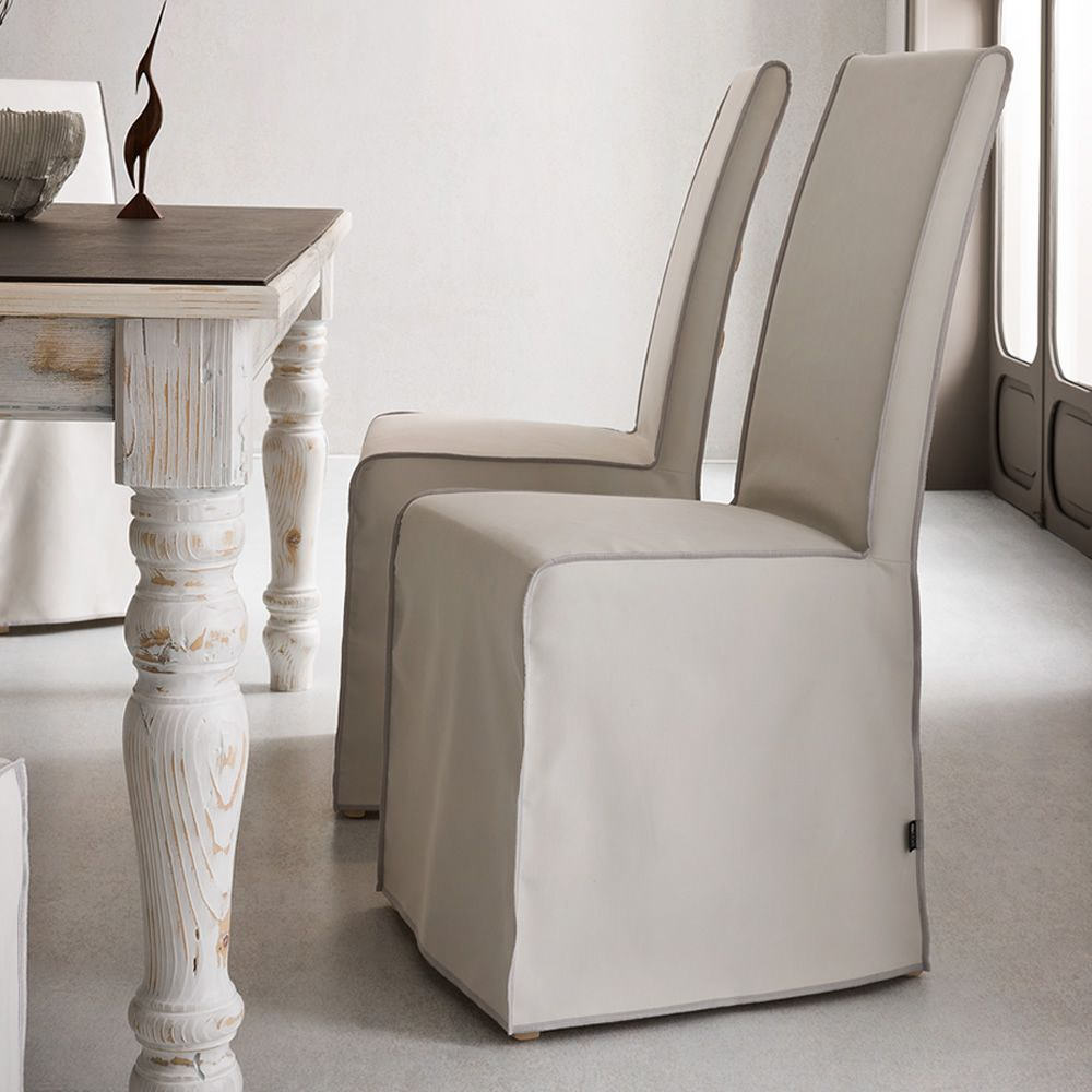 Sparta sedia classica vestita con schienale e seduta for Rivestimento sedie