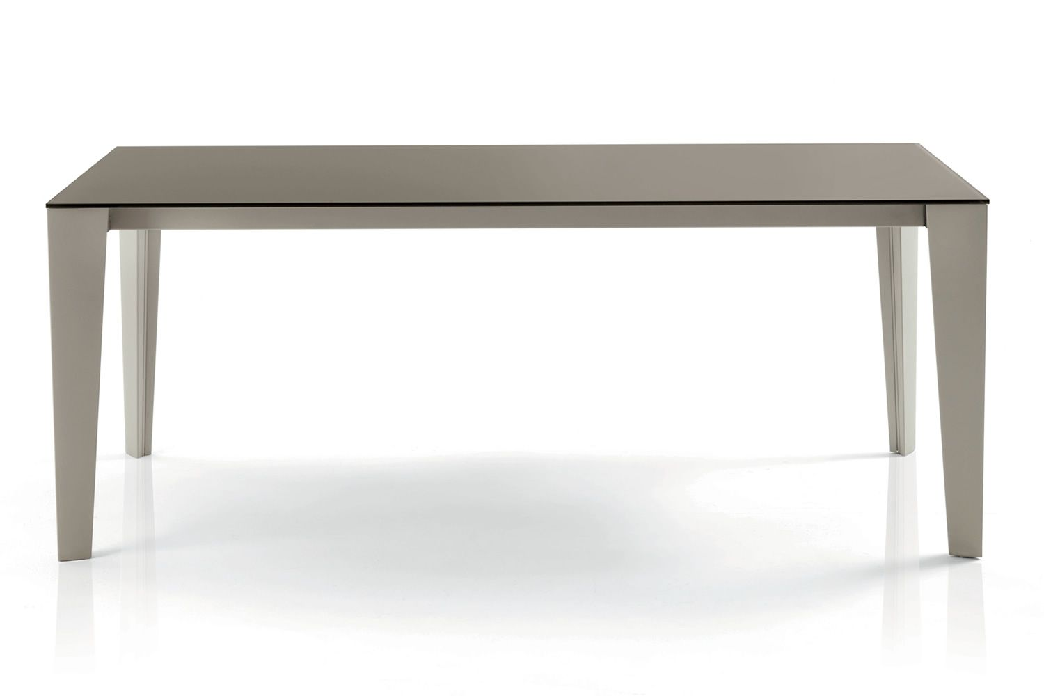 Cruz table design de bontempi casa 140 x 90 cm - Bureau 90 cm de large ...