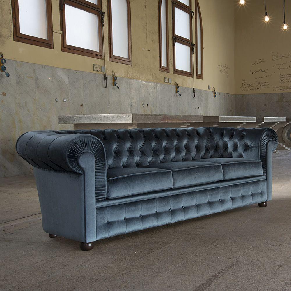 800 xl divano classico domingo salotti 3 posti - Tavolini poltrone sofa ...