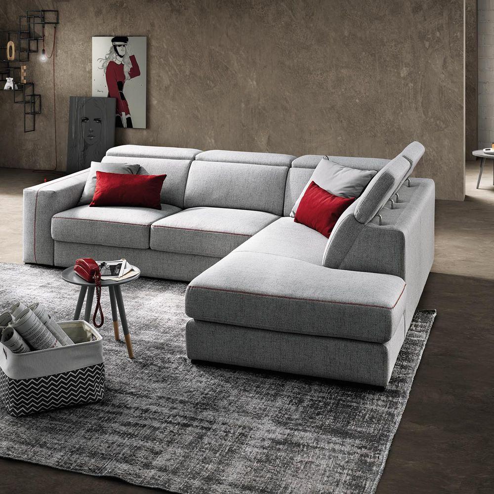 Astor divano a 2 3 posti o 3 posti maxi sedute for Divano sfoderabile