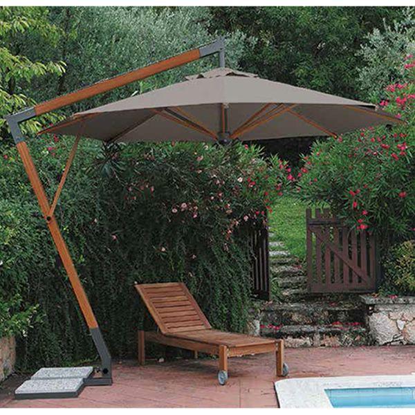 Omb15 parasol de jard n con brazo lateral disponible en for Cd market galeria jardin