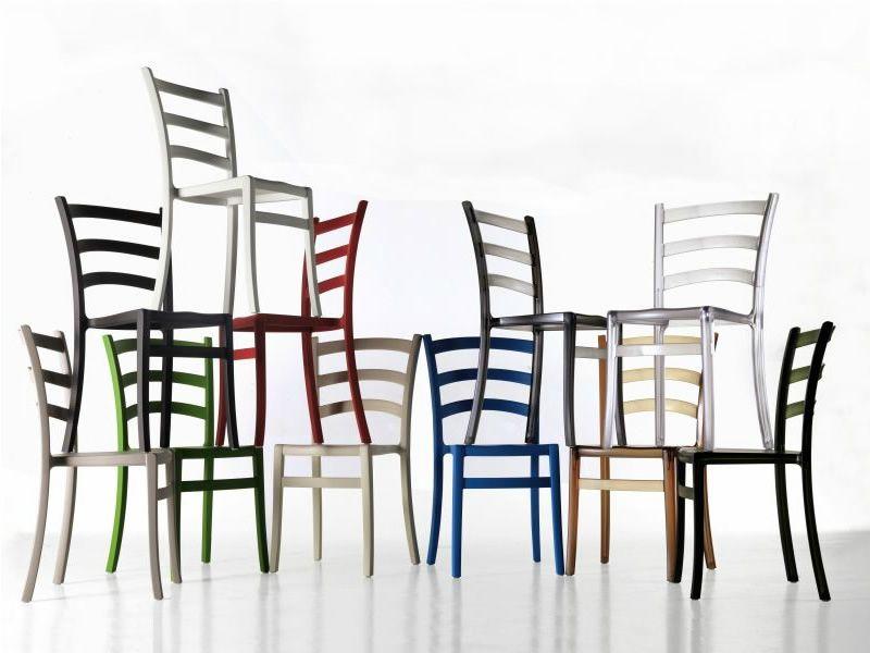 Italia 150 sedia colico in polipropilene di diversi for Colico design sedia go