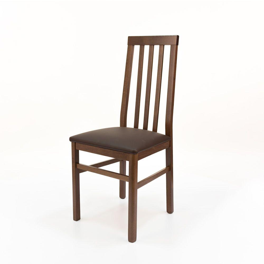 Mu14 chaise moderne en bois avec assise rembourr e - Chaise en couleur ...