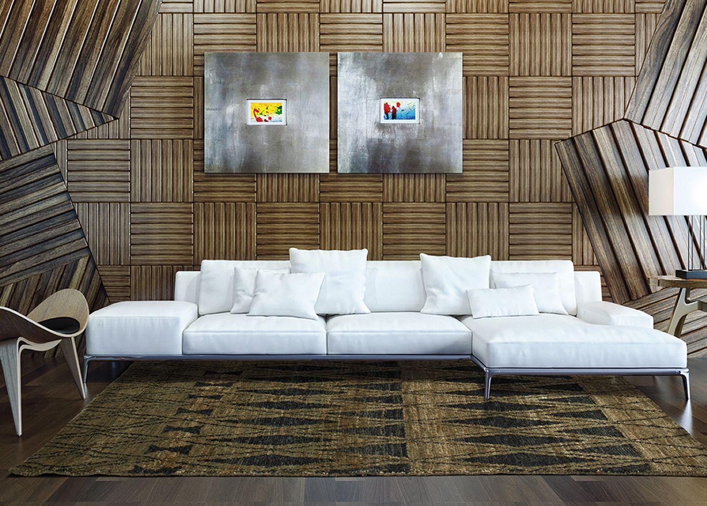 Himalaya Charcoal - Tappeto di design in juta, disponibile in ...