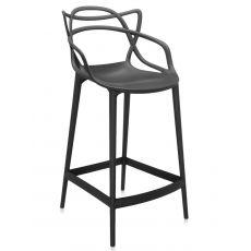 Masters stool - Sgabello Kartell di design, in polipropilene, altezza seduta 65 o 75 cm, anche per giardino