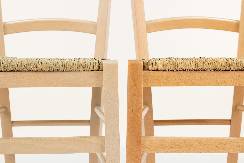 110 per Bar e Ristoranti - Sedia moderna in legno per bar e ...