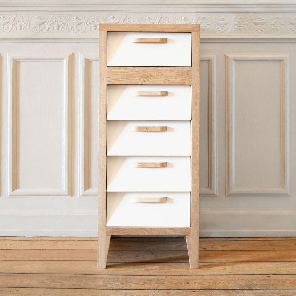 60 39 s h commode haut ethnicraft en bois avec 5 tiroirs en mdf en diff rentes couleurs sediarreda. Black Bedroom Furniture Sets. Home Design Ideas