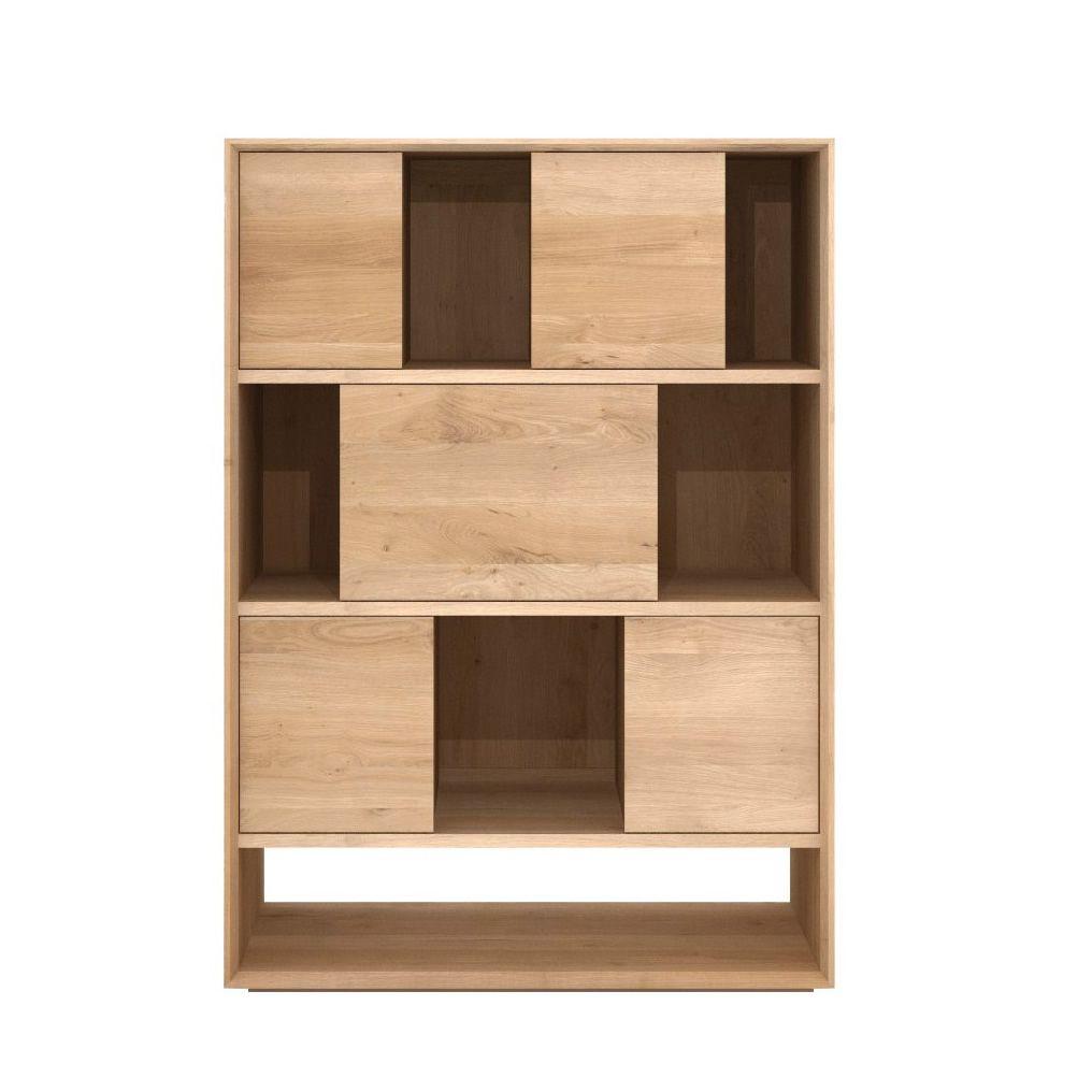 Nordic r meuble s jour ethnicraft en bois disponible en for Meuble sejour haut