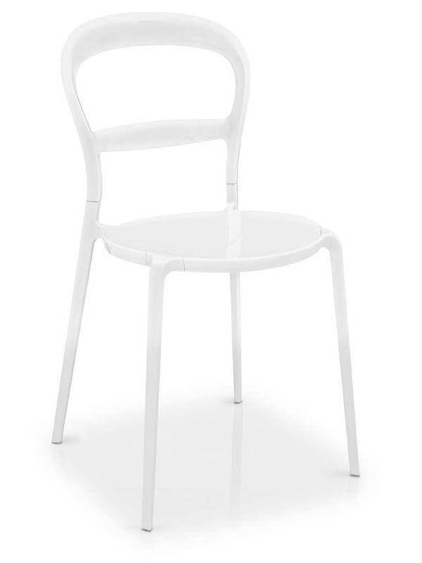 Cs1091 d wien sedia calligaris in alluminio e for Sedie calligaris policarbonato