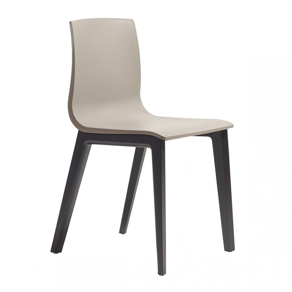 Hetre Bois Traduction : Smilla Tec 2841 – Chaise en h?tre couleur gris fum?e, avec assise en