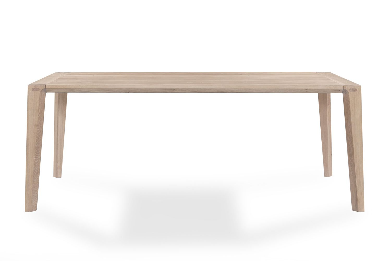 Raia tavolo di design in legno rettangolare fisso for Tavolo in legno design