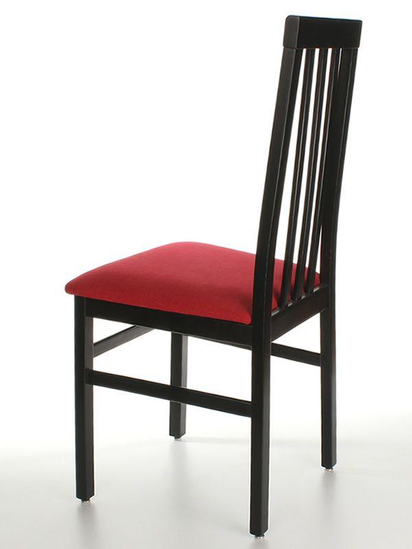 Sedie nere interesting clp sedia da pranzo ina tessuto for Sedie nere ecopelle