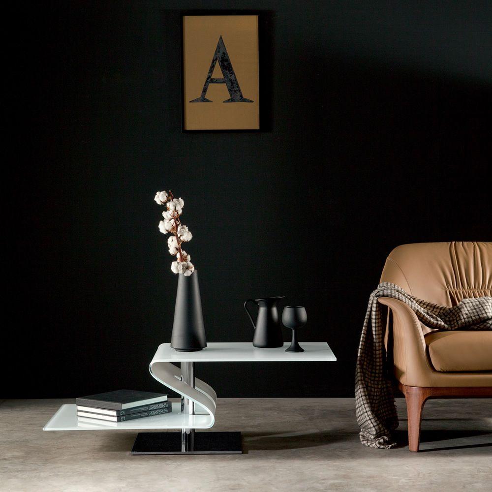 Pavones 8105 designer beistelltisch tonin casa aus metall for Designer beistelltisch