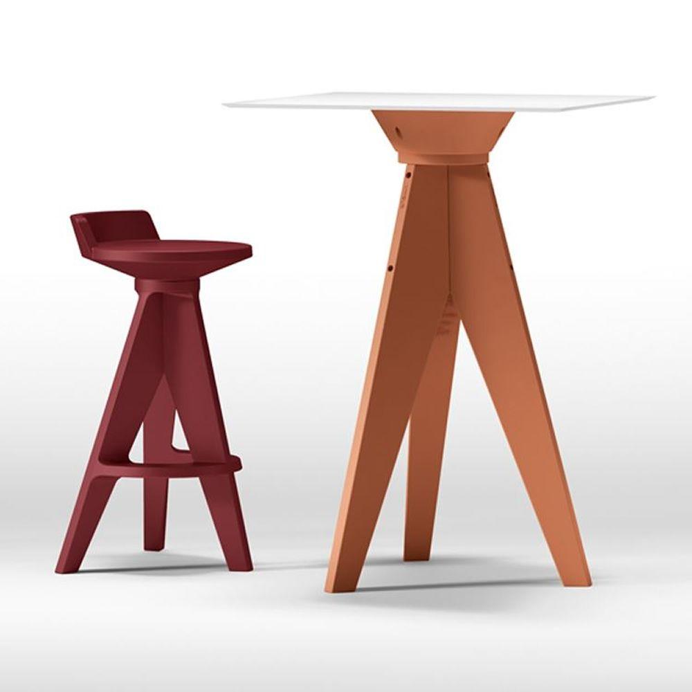 oxford hoher tisch aus technopolymer in verschiedenen farben verf gbar auch f r den. Black Bedroom Furniture Sets. Home Design Ideas