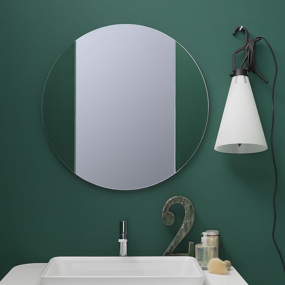 Acqua R | Specchio rotondo di diametro 70 cm