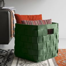 CS7154 Connor - Clligaris storage holder-magazine rack, in felt, available in different colours