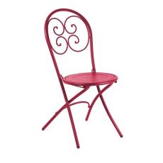 Pigalle 924 - Emu folding chair made of metal, for garden, available in several colours