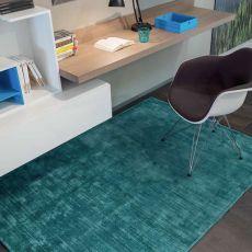 Trendy Shiny - Alfombra moderna de seda vegetal, en varios colores y dimensiones