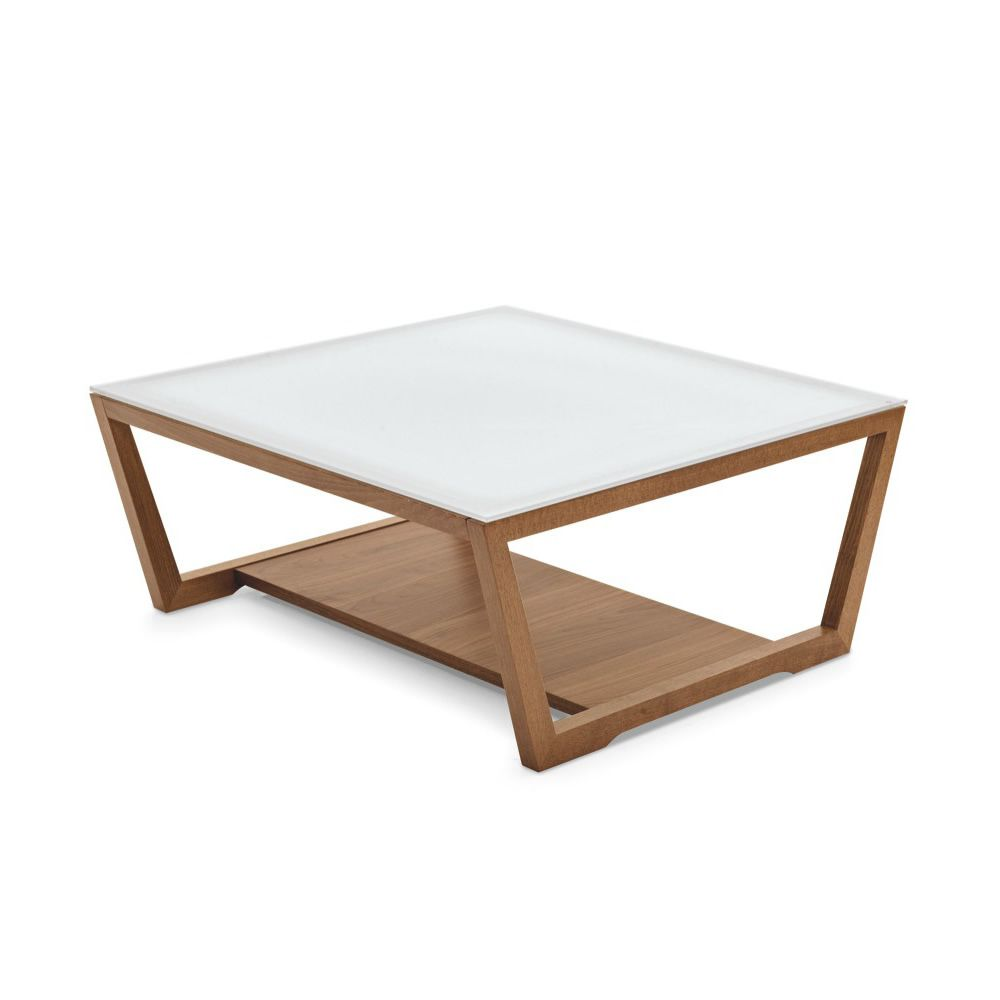 Cb5043 q element connubia calligaris wooden coffee for Coffee table 80 x 80