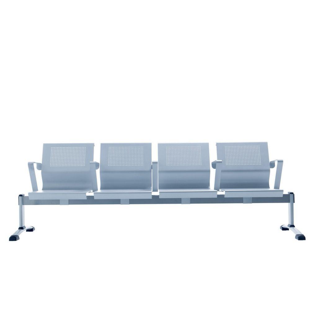 cluster banquette de salle d attente assises en m 233 tal disponible en diff 233 rentes dimensions