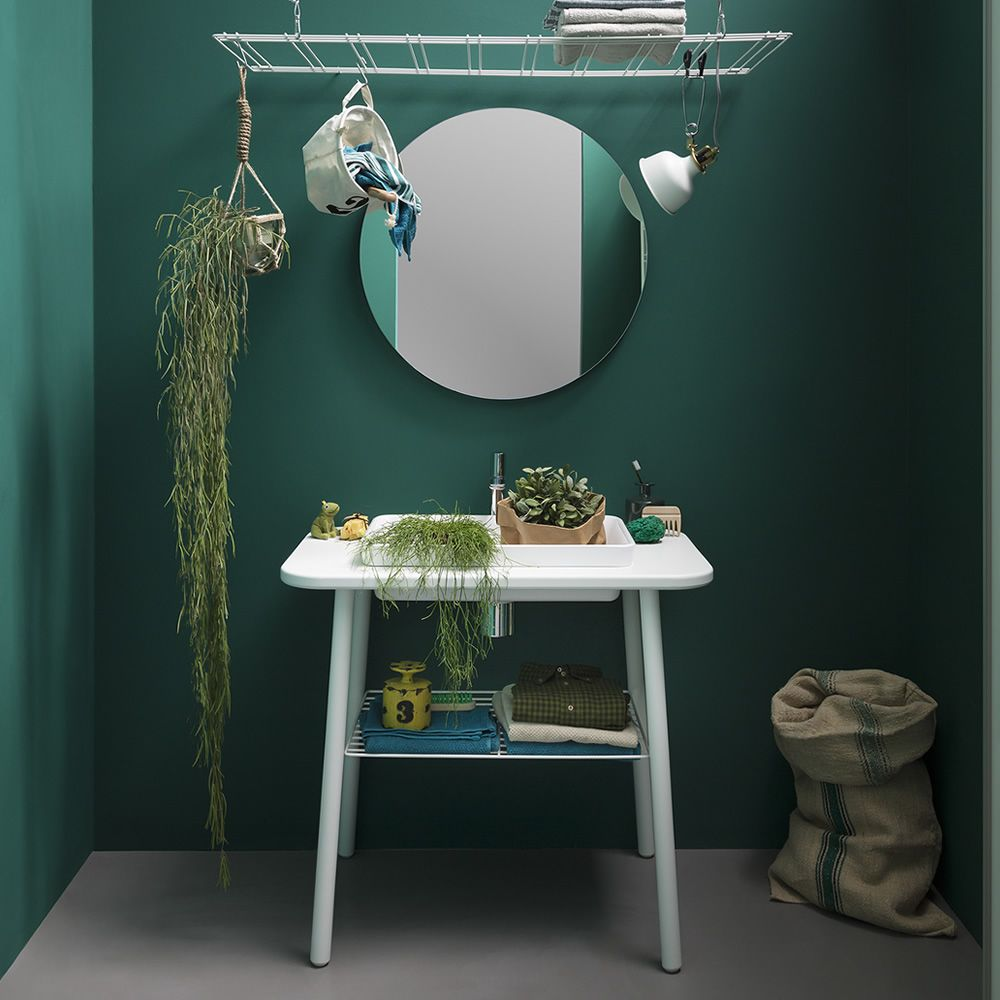 Acqua e sapone meuble de salle de bain disponible en for Salle de bain carrelee jusqu au plafond
