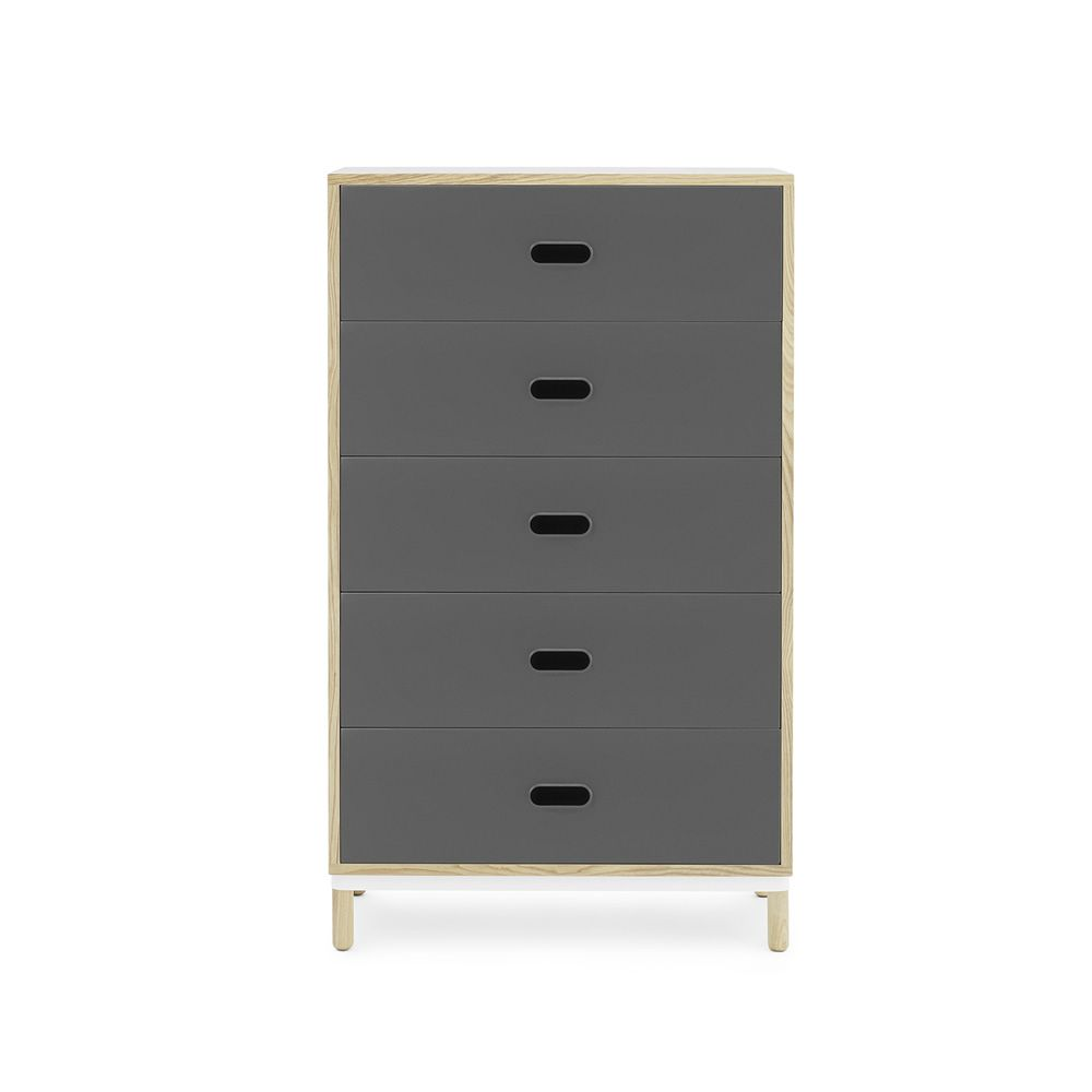 kabino kommode normann copenhagen aus holz und mdf schubladen aus aluminium in verschiedenen. Black Bedroom Furniture Sets. Home Design Ideas