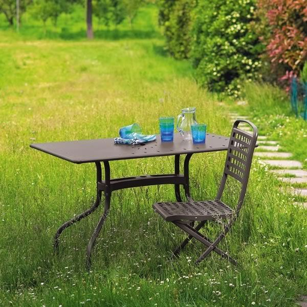 isabella 2516 klappstuhl aus stahl f r garten sediarreda. Black Bedroom Furniture Sets. Home Design Ideas