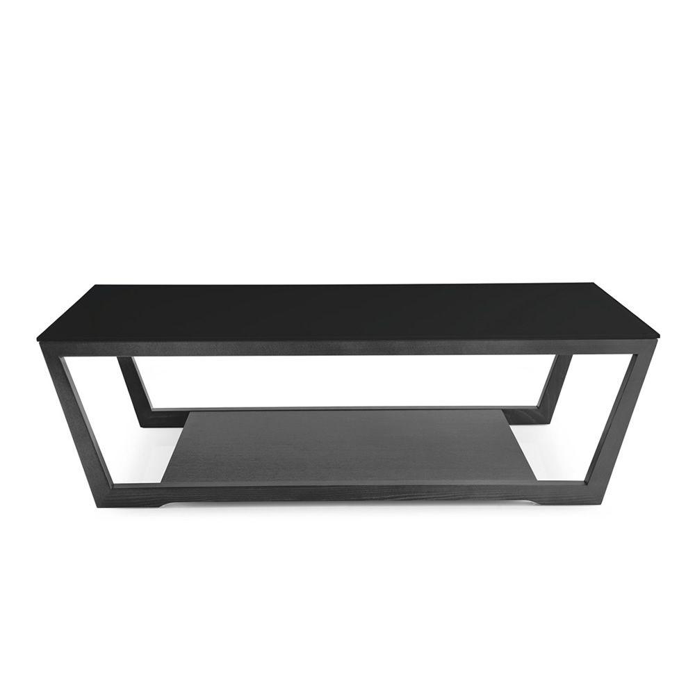 cb5043 r element moderner tisch von connubia calligaris aus holz mit glasplatte 120 x 60 cm. Black Bedroom Furniture Sets. Home Design Ideas